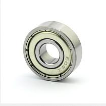 ShenStar Double Shielded Miniature High-carbon Steel Single Row 608ZZ Deep Groove Ball Bearing 8x22x7 mm 608 ZZ