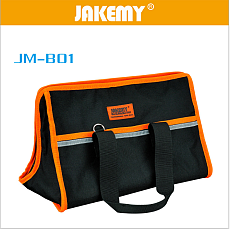 JAKEMY JM-B01 Large Professional Tool Bag Multifunctional Electrician Household Tool Bag