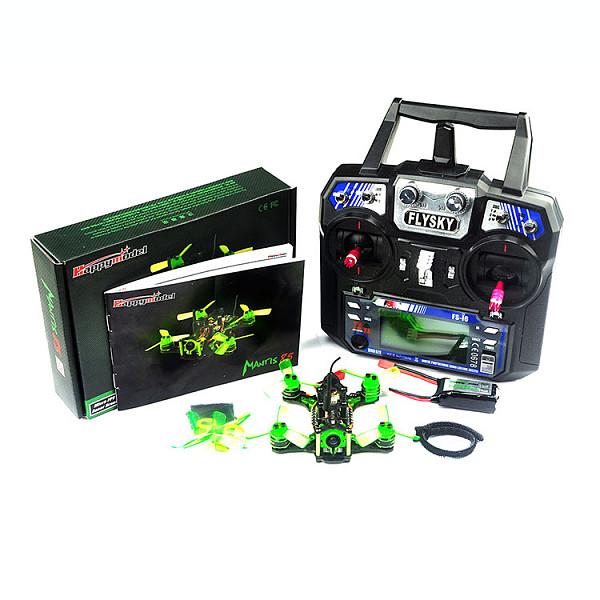 Mantis85 85mm FPV Racing Drone RTF w/ Supers_F4 6A BLHELI_S 5.8G 25MW 48CH 600TVL FS-I6