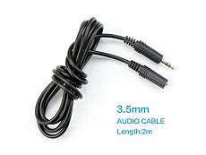 jack 3.5mm male to female Stereo Audio Cable 2m Headphone Aux Extension Cable