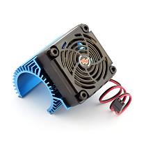 Hobbywing EZRUN Motor Combo C1 Motor Heat Sink + 5V Fan Hobbywing 2S for 3660 3665 3674 1/8 RC Car Brushless Motor