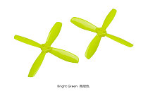 10Pairs KINGKONG 2535 2.5 Inch Propeller 63.5mm 4-blade Props for 120 FPV Racing Drone Quadrocopter