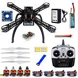 DIY RC Drone Quadrocopter Full Set X4M380L Frame Kit QQSuper T6EHP-E TX F14893-I