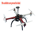 Full Set RC Drone Quadrocopter 4-axis Aircraft Kit F450-V2 Frame GPS APM2.8 Flight Control Flysky FS-i6 Transmitter
