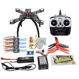 QQ SUPER Multi-rotor Flight Control DIY 310mm Fiberglass Multicopter Kit Radiolink 6CH TX&RX 1400KV Motor 30A ESC