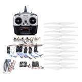 RC HexaCopter ARF Electronic:30A ESC 920KV Motor KKMulticopter V2.3 Control Board Propeller Radiolink T6EHP-E RX&RX