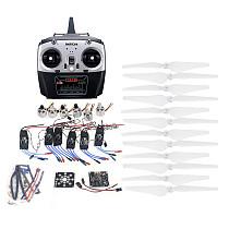RC HexaCopter ARF Electronic:30A ESC 920KV Motor KKMulticopter V2.3 Control Board Propeller Radiolink T6EHP-E RX&RX