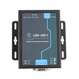 Ethernet Modbus Gateway, Serial to Ethernet Supports Modbus RTU/ASCII to Modbus TCP, Modbus Slave/Master