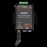 HF-2211 Serial port server ModbusTCP / RTU interchange RS422 / RS232 / 485 to Wi-Fi model