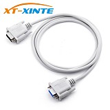 1.5m DB9 Serial Cable 9 Pin RS232 Serial Cable Male to Female PC Converter Extension Cable