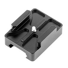 OEM CNC Aluminum 20mm Mini Rail Mount for GoPro Hero 2 Camera