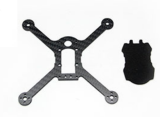 Carbon Fiber Bottom Plate for KINGKONG FPV EGG PNP 136mm FPV Racing Drone Quadrocopter