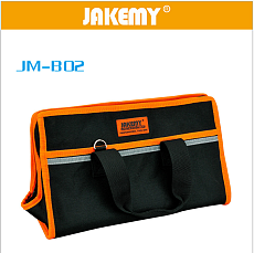 JAKEMY JM-B02 Medium Professional Tool Bag Multifunctional Electrician Tool Bag Medium 35.5*21*17