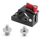 JMT 25mm Rail Rod Clamp Bracket Holder with 1/4 3/8 Mount for DJI Ronin M MX Accessories Monitor Clip Photo Studio Spare Parts