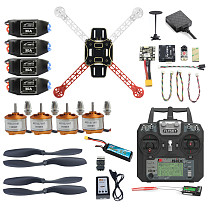 Pro DIY Mini 310 330 360 Full Set FPV Drone 2.4G 10CH RC 4-Axis Quadcopter Radiolink Mini PIX M8N GPS PIXHAWK Altitude Hold Mode