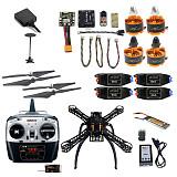 2.4G 8CH 310 330 360 Mini RC Quadcopter ARF RTF Unassemble DIY Drone FPV Upgradable w/ Radiolink Mini PIX M8N GPS Altitude Hold