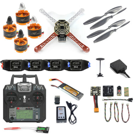 Pro DIY F450 F550 Drone Full Set 2.4G 10CH RC Hexacopter Quadcopter Radiolink Mini PIX M8N GPS PIXHAWK Altitude Hold FPV Upgrade