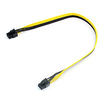 40cm Cable Adapter 6P to 6P 18AWG Wire Line Graphics extension cord Server Conversion Board 6pin to 6pin Power Supply Connector