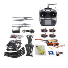 DIY RC Drone Quadrocopter RTF X4M360L Frame Kit QQ Super Radiolink AT9 F14892-H