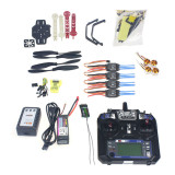 Full Set RC Drone Quadrocopter 4-axis Aircraft Kit F330 MultiCopter Frame MINI CC3D Flight Control Flysky FS-i6 TX
