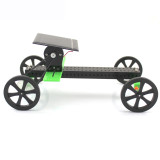 Funny DIY Solar Toy Car Assemble Kit Belt Drive Vehicle Mini Solar Energy Powdered Toys Racer Children Kids Educational Model