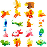 3D Wood Puzzles Animal for Children Baby Vehicle Puzzles Wood Toys for Learning and Environmental Assemble Toy Educational Game