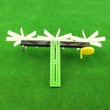 Puzzels Building Blocks DIY Rotating Hand-cranked Physical Mechanical Children's Science Hobbies Educational Toys Mechanics Demo