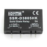 Q00131 PCB Dedicated with Pins Hoymk SSR-D3805HK 5A DC-AC Solid State Relay SSR D3805HK
