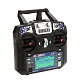 Flysky FS-i6 6CH 2.4G AFHDS 2A LCD Transmitter Radio System for RC Heli Glider Quadcopter DIY Drone