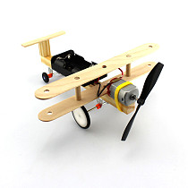Electric Taxi Aircraft Taxiing Glider Wind Air Power DIY Science Technology Small Inventions Scientific Experiments Toys