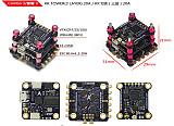 LDARC KK F4+OSD 3 Layer KK Tower 20A BLHELI-S 4in1 ESC 0-200MW VTX For FPV Racing Drone RC Racer