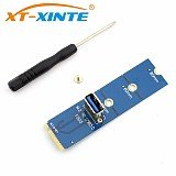 NGFF M.2 to PCI-E X16 Slot Transfer Card Mining Pcie Riser Card VGA Extension Cable Minner Extender Graphics Adapter Card