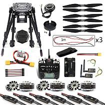 DIY 6-Axle ZD850 Frame Kit APM 2.8 Flight Controller M8N GPS 3DR MHz Telemetry Flysky TH9X TX Motor ESC RC Hexacopter