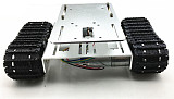 DIY Crawler Robot Chassis Aluminium Alloy Tank Car Chassis Bottom Intelligent Toy