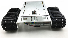 DIY Crawler Robot Chassis Aluminium Alloy Tank Car Chassis Bottom Intelligent Toy