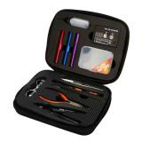 JAKEMY 12 In 1 JM-P16 DIY Electronic Cigarette Kit Atomizer Coil Tool Bag Spare Parts Vape Hand Tool Screwdriver Set