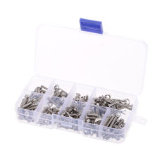 RC Screws Stainless Metal Steel Screw Kit for Traxxas Slash 4x4 Short Truck Off-road RC Car DIY Car Parts Set Tools
