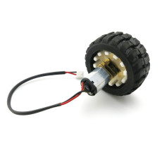 N20 Micro Gear Motor & Rubber Wheels for DIY Robot Smart Car Model 3V 6V N20 Metal DC Change Speed Gearbox Motor Wheel Set