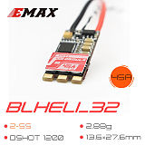 EMAX Formula 32 45A BLHeli_32 Dshot1200 2-5S Brushless ESC for FPV Racing Drone