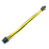 High Quality 4Pin 4P to 8Pin 8P Power Supply Cable Computer CPU P4 to P8 Extension Conversion Wire Cord 20cm