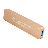 XT-XINTE LM-881U USB3.0 TYPE-A TO NGFF SSD Enclosure USB Enbedded for NGFF SSD Hard Disk adapter 2230/2242/2260/2280