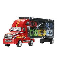 12pcs/lot Mini Pull Back Diecast Alloy Car Toys Children 12 Racing Car Model Toys Container Truck Kids Mini Metal Cars Toy Gift