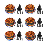 6pcs HYD 3508 700KV 198W Disc Motor for Drone Aircraft Multirotor Quadcopter