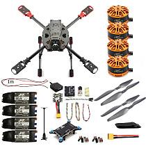 DIY 2.4GHz 4-Aixs Quadcopter RC Drone ARF 630mm Frame Kit Radiolink MINI PIX+GPS Brushless Motor ESC Altitude Hold