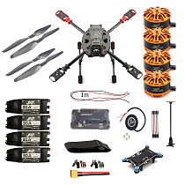 DIY Quadcopter 2.4GHz 4-Aixs RC Drone ARF APM2.8 M7N GPS 630MM Carbon Fiber Frame W/ Motor ESC Props