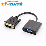 DVI to VGA Adapter 1080P DVI-D to VGA Adapter Cable Digital DVI 24+1 Male to 15 Pin VGA Female Video Converter for PC Display