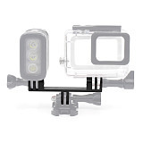 Camera Tripod Mount Base Connect Seat Monopod Stand Holder Metal Bracket Special for Gopro hero4 Session 3+ 3 2 XIAOYI G