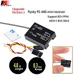 Flysky FS-i6 6CH 2.4G AFHDS 2A LCD Transmitter Radio System w/  FS-A8S V2 Receiver for Mini FPV Racing Drone RC Quadcopter