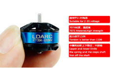LDARC Kingkong 1304 6200KV Mini Brushless Motor 2-3S PK1106 Motor Double Mounting Hole for FPV Racing Drone Quadcopter RC Racer