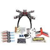 DIY RC Multicopter FPV APM2.8 GPS Drone X4M310L Fiberglass Frame Kit 1400KV Motor XT-XINTE 30A ESC Propeller
